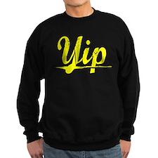 Yip, Yellow Sweatshirt