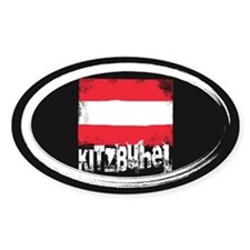 Kitzbühel Grunge Flag Stickers