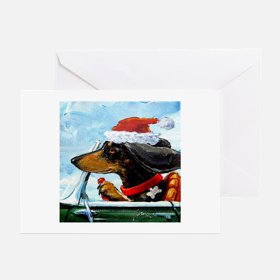 Holiday Dachshund Greeting Cards (Pk of 20)