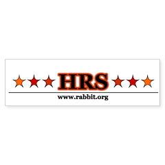 HRS Star Bumper Bumper Sticker