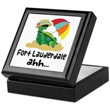 Fort Lauderdale Turtle Keepsake Box