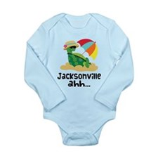 Jacksonville Florida Long Sleeve Infant Bodysuit