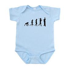 Evolution of Suit Infant Bodysuit