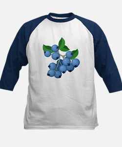 Blueberries Kids Baseball Jersey