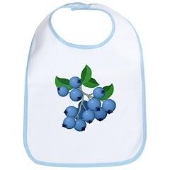 Blueberries Bib
