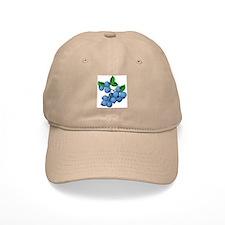 Blueberries Baseball Cap