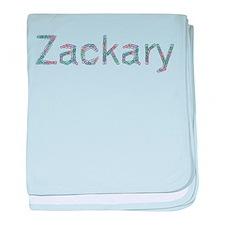 Zackary Paper Clips baby blanket