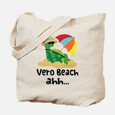 Vero Beach Turtle Tote Bag