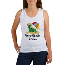Vero Beach Turtle Women's Tank Top