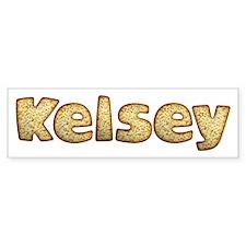 Kelsey Toasted Bumper Bumper Sticker