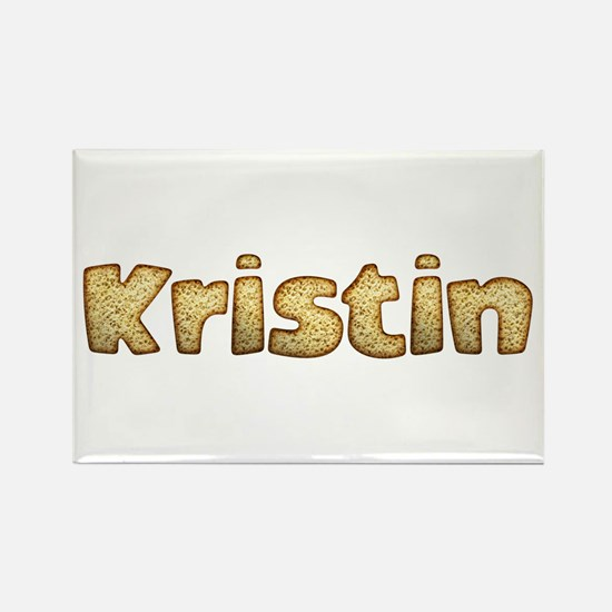 Kristin Toasted Rectangle Magnet