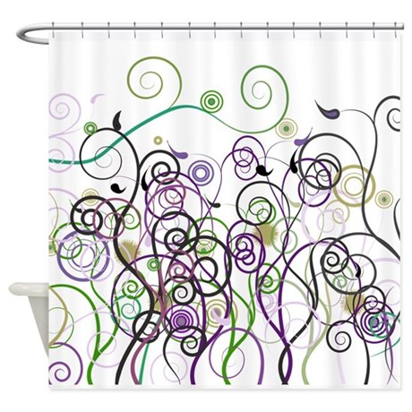 Decorative Shower Curtains by Leslie Harlow Shower