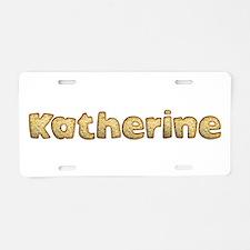 Katherine Toasted Aluminum License Plate