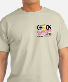 Chick Gone Pink For Breast Cancer T-Shirt