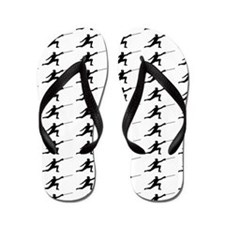 Fencing Silhouette or Icon Flip Flops