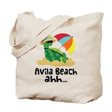 Avila Beach Turtle Tote Bag
