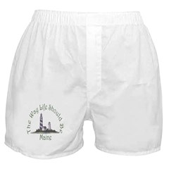 Maine State Motto Boxer Shorts