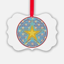 Multilingual Christmas Ornament