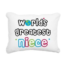 WorldsGreatestNiece.png Rectangular Canvas Pillow