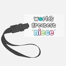 WorldsGreatestNiece.png Luggage Tag