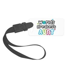 WorldsGreatestAuntsPrimary.png Luggage Tag