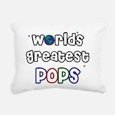 WorldsGreatestPops.png Rectangular Canvas Pillow