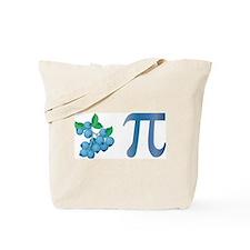 Blueberry Pi Tote Bag