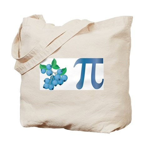 Blueberry Pi Tote Bag