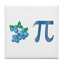 Blueberry Pi Tile Coaster