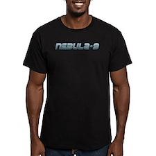 Nebula-9 Men's Fitted T-Shirt (dark)