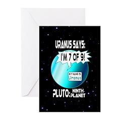Uranus: 7of9 Greeting Cards (Pk of 10)