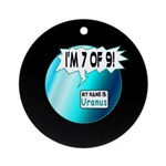 Uranus: 7of9 Ornament (Round)
