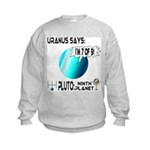 Uranus: 7of9 Kids Sweatshirt