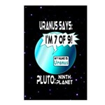Uranus: 7of9 Postcards (Package of 8)