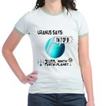 Uranus: 7of9 Jr. Ringer T-Shirt