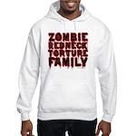 Zombie Redneck Torture Family Blood Hooded Sweatsh