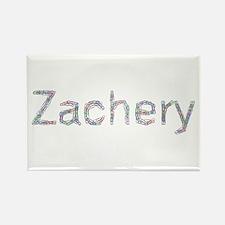 Zachery Paper Clips Rectangle Magnet