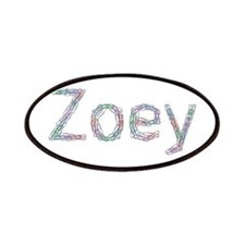 Zoey Paper Clips Patches