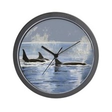 Killer Whale Orca Wall Clock