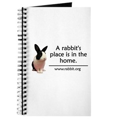 A rabbits place is in the hom Journal