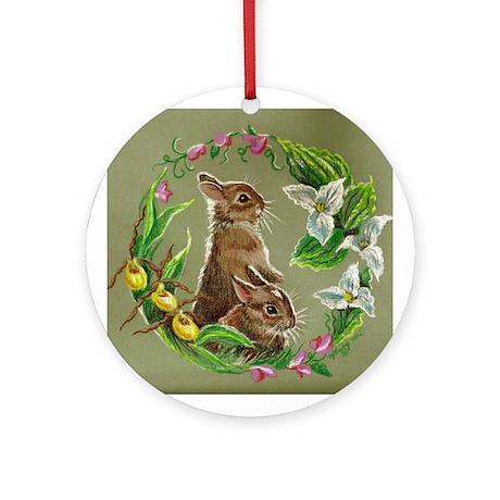 Easter Bunny Keepsake (Round)