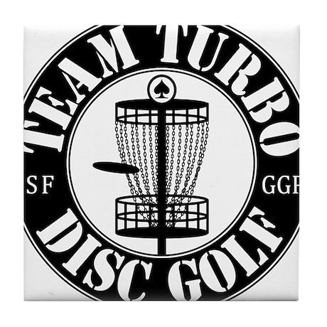 Team Turbo Tile Coaster