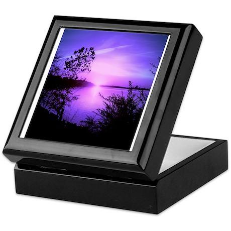 Purple Set Keepsake Box