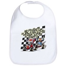 Cute Race track Bib