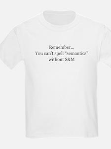 Sexy Semantics T-Shirt