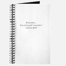 Sexy Semantics Journal