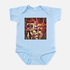 Carousel Horses Infant Bodysuit