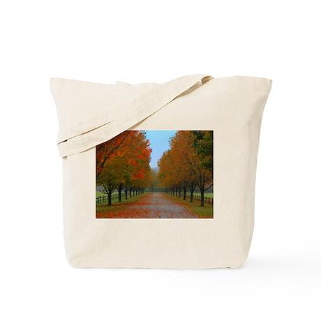 Dreamy Fall New England Drive Tote Bag