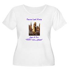 Joan of Arc last words T-Shirt