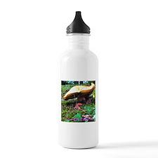 Yellow Mushroom Sports Water Bottle